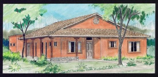 Tucson house rendering