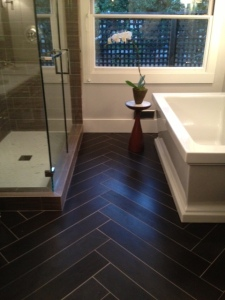 Crossville Tile in Trad Home Showhouse