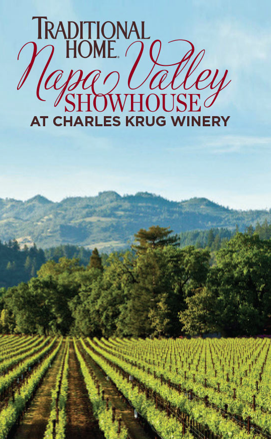 Crossville in Traditional Home Napa Valley Showhouse