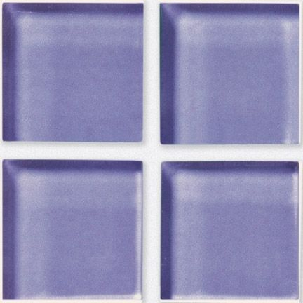 Crossville Porcelain Tile - Glass Blox - Bright Solids Lilac Dew