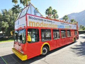 Modernism Week Premier Double Decker Architectural Bus Tours
