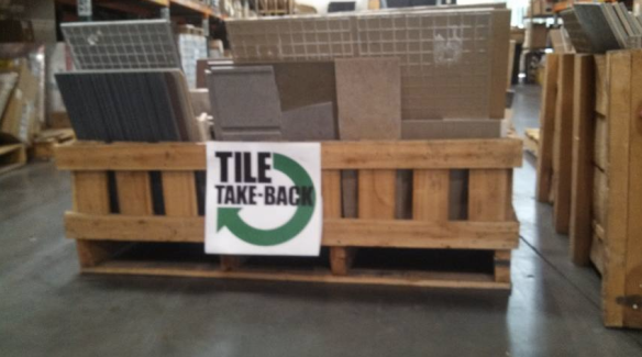 Crossville Collects Tile for Recycling