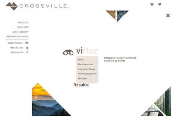 Crossville Smart Search Feature