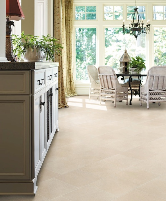 Crossville's Limestone Porcelain Collection