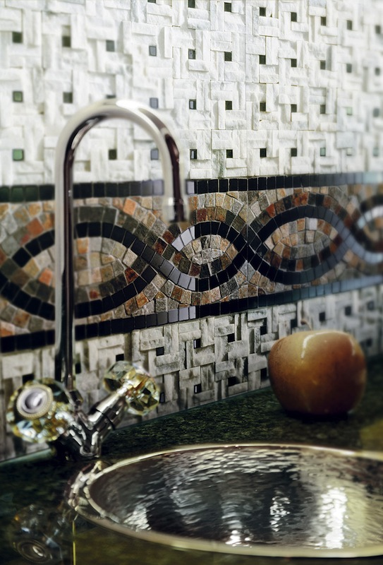 Crossville's Modern Mythology backsplash tile