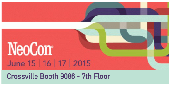 Crossville NeoCon 2015 booth 9086 7th floor