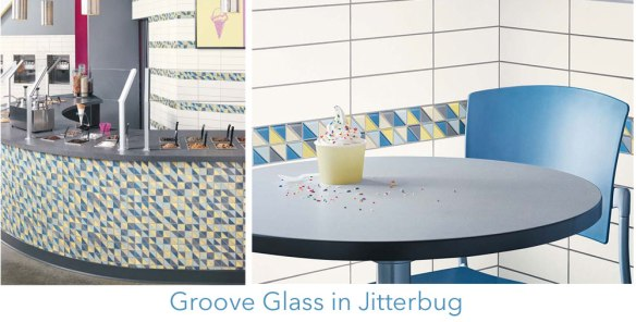 groove Glass in Jitterbug