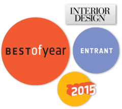 I Metalli Best of Year Interior Design Magazine Entrant