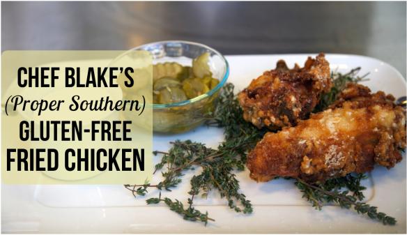 Chef Blake's Gluten Free Fried Chicken Shared By Crossville