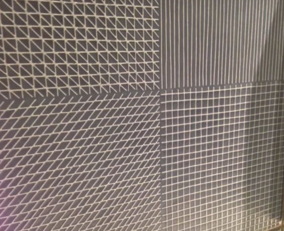 Crossville looks at the trend of linear art in tile design