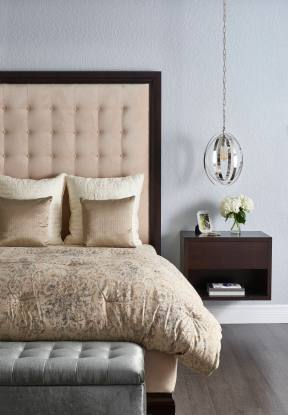 master_bedroom_bed_high_headboard_blue_cream_john_mcclain_design