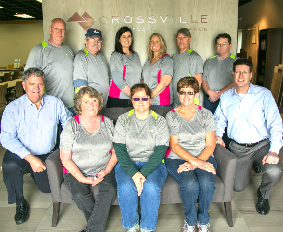 Crossville 30 year Employees