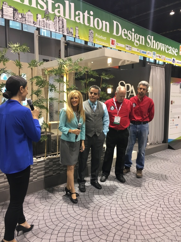 Installation Design Showcase Coverings 2016