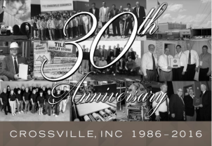 Crossville Inc Celebrates 30 Years in the Tile Industry