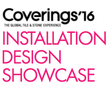 Crossville at Coverings Installation Design Showcase 2016